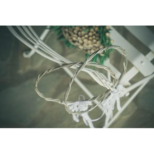 Ξ023. Στέφανα γάμου με φυσικό κλαδί ελιάς
